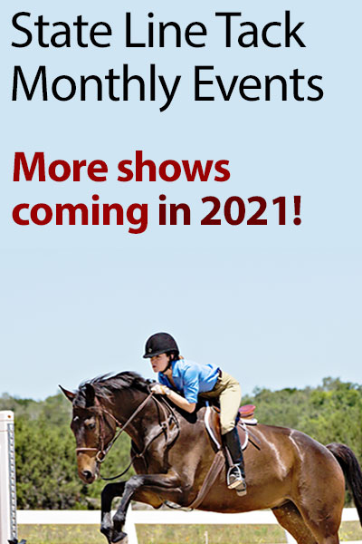 State Line Tack Monthly Events