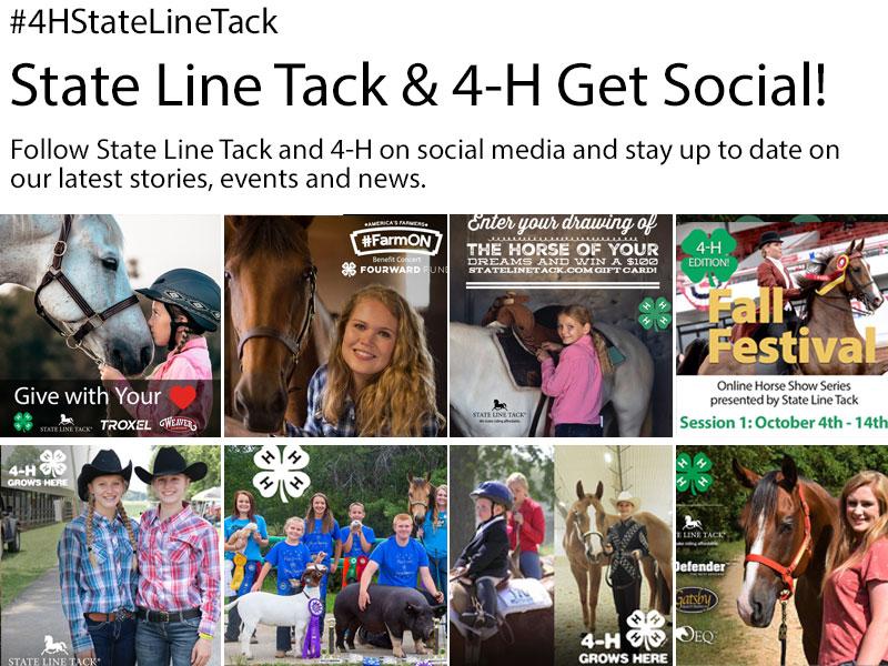 State Line Tack & 4-H Get Social!