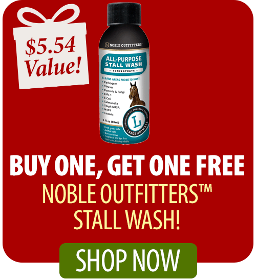 Buy one, get one FREE Noble Outfitters™ Stall Wash!