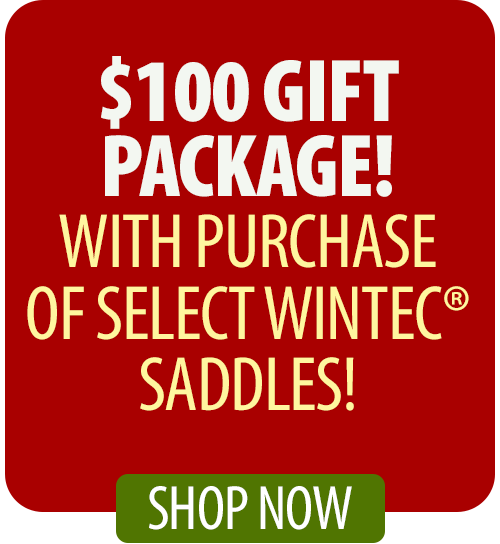 Free Wintec® Gift Package with purchase of select Wintec® Saddles!