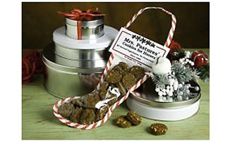 Mrs. Pastures® Cookies 8oz Christmas Stocking